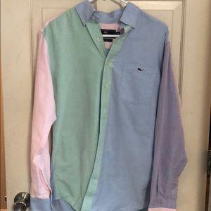 Vineyard Vines men's slim for Tucker shirt medium